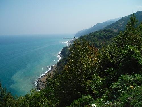 Entlang der Schwarzmeerküste