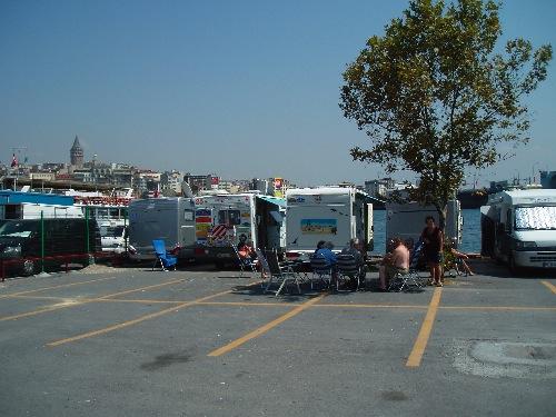 Stellplatz in Istanbul