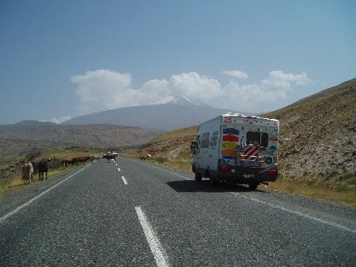Der erste Blick auf den Ararat