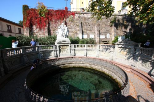 Donauquelle in Donaueschingen
