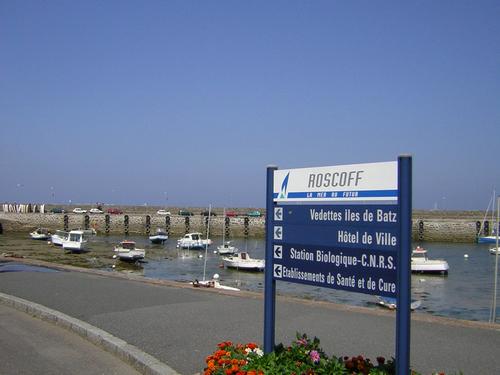am Hafen von Roscoff