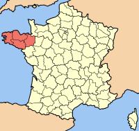 Frankreich- und Bretagnekarte (Quelle:Wikipedia)