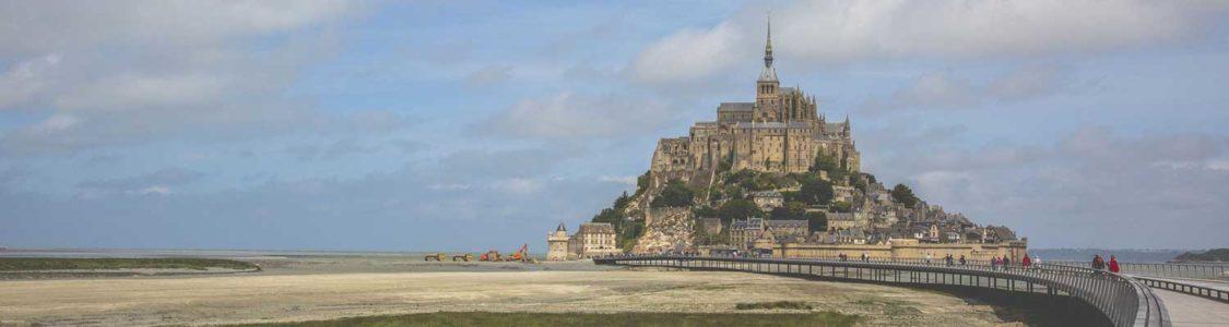 Besuch am Mont Saint Michel