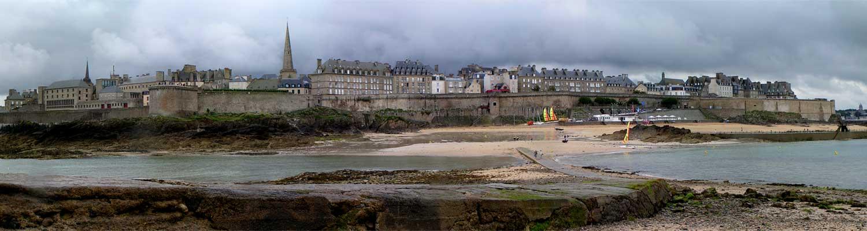 Besuch der Korsarenstadt St. Malo