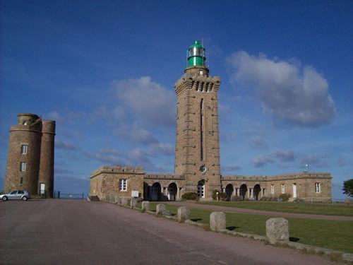 Der Leuchtturm von Cap Frehel, Baujahr 1950