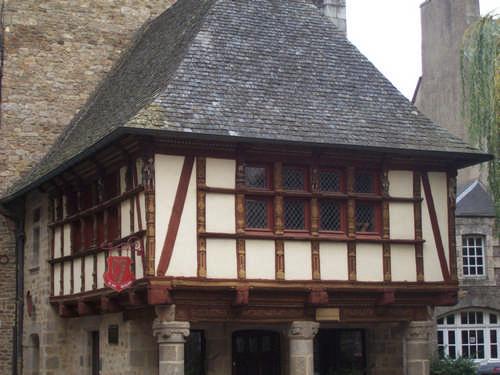 typisches Haus in Dinan