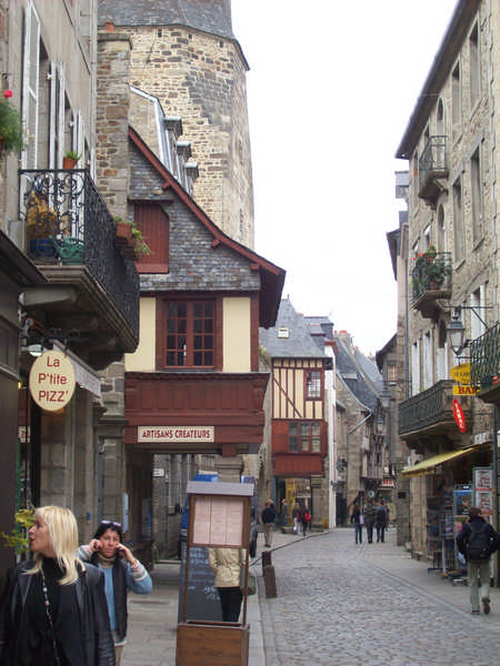 Straße in Dinan