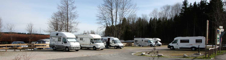 Mobilpark Schwangau, Reisemobil-Stellplatz Bannwaldsee im Allgäu