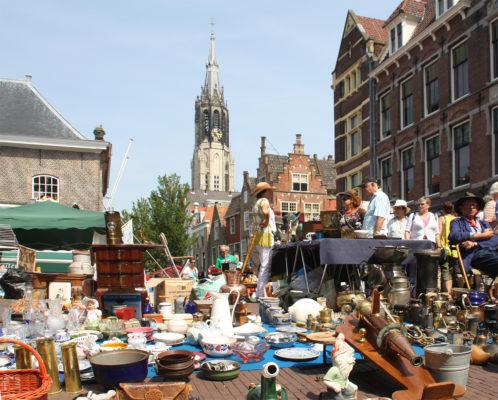 Flohmarkt in Delft