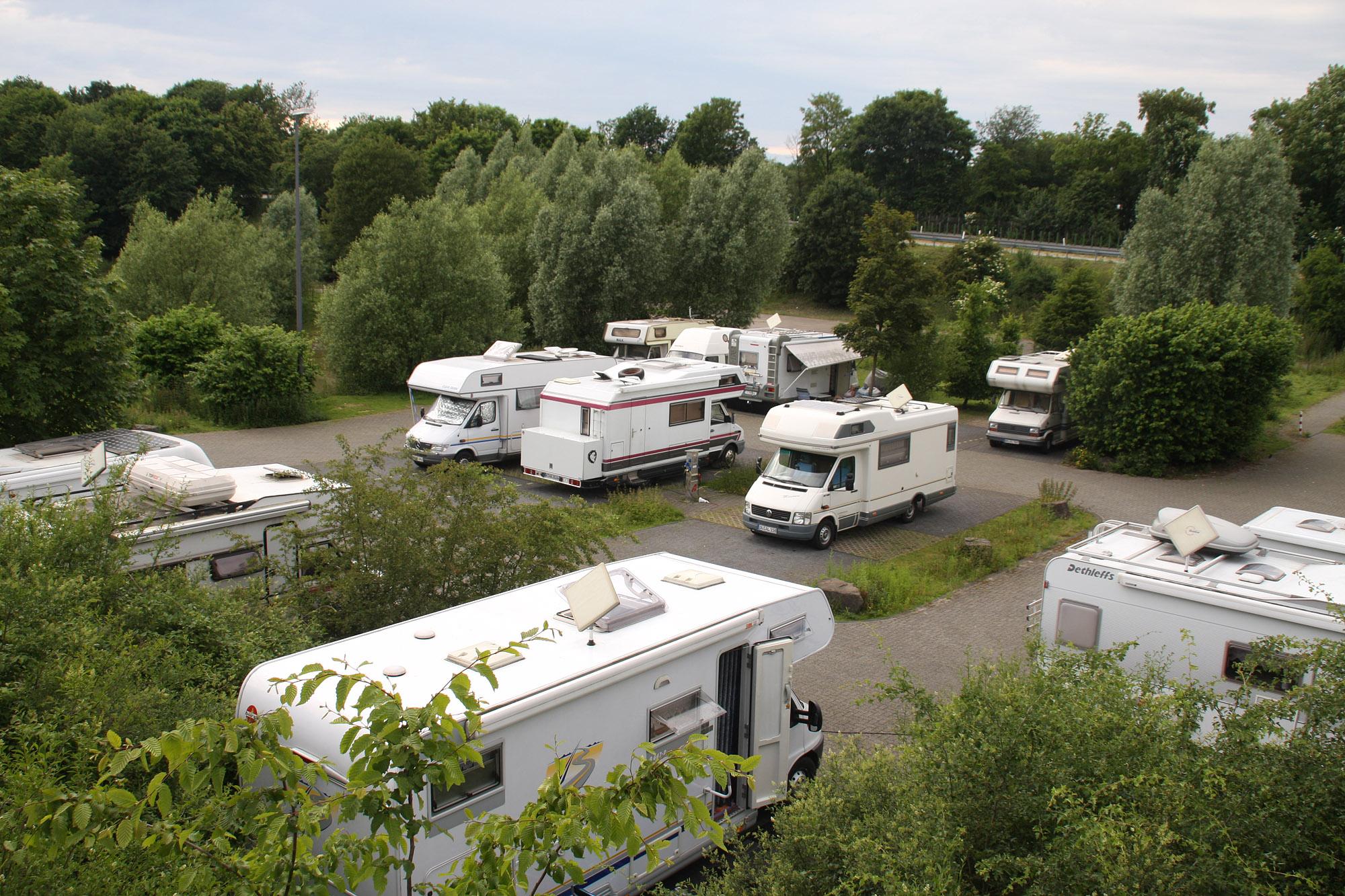 Kostenloser Reisemobil-Stellplatz Köln-Marsdorf