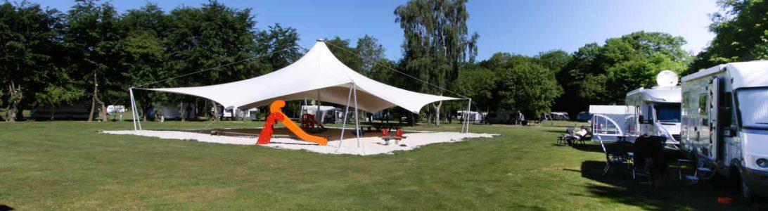 Camping de Valkenhof in Westerbork, Drenthe