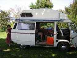 unser VW Bus Loretta