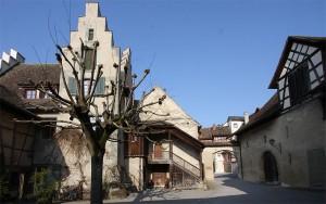 Klosterhof des Klosters St. Georg in Stein am Rhein