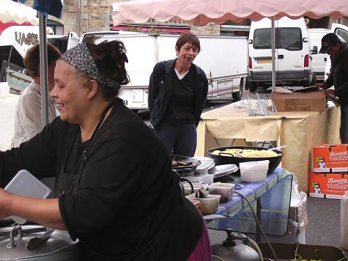 Markt in St. Pol de Leon