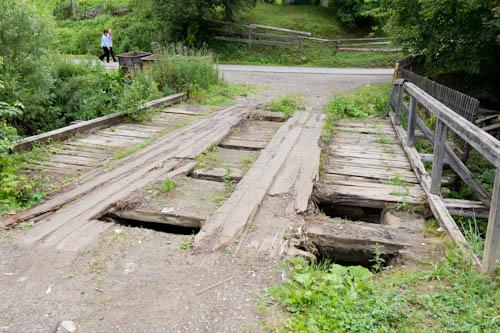 Nein, diese Brücke haben wir nicht genommen