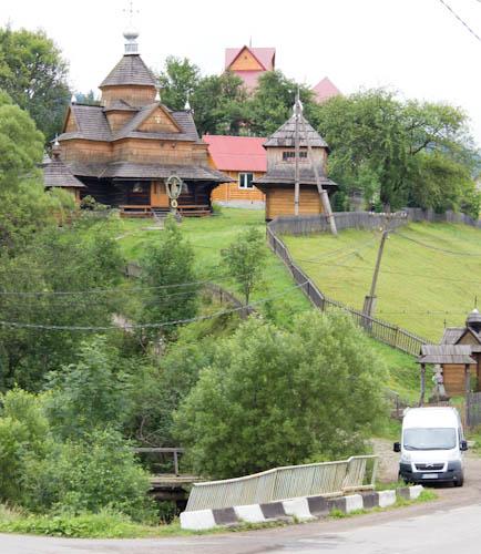 Holzkirche in Worochta