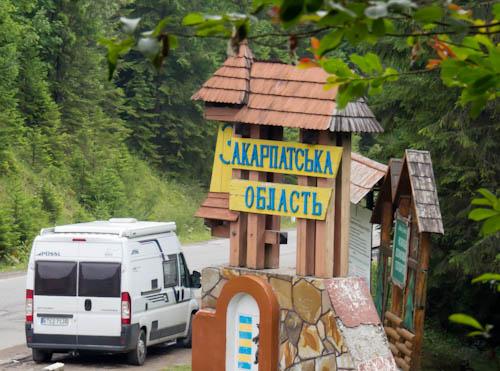 Zurück in Transkarpatien