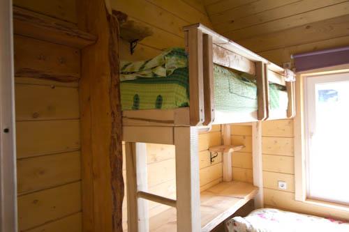 Die schnuckligen Hostelzimmer in Worochta