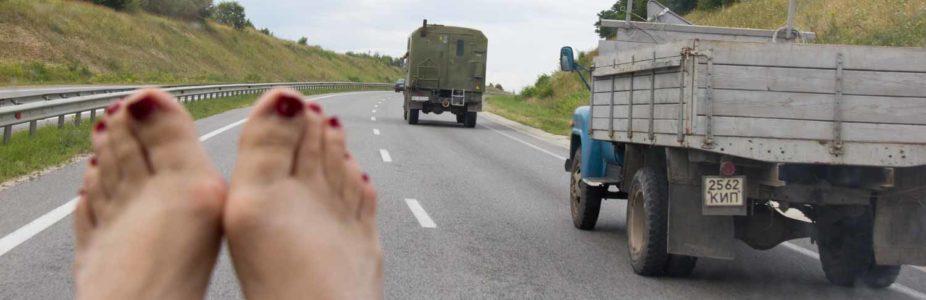 Suche in der Slowakei, Ankommen in der Ukraine und weiterziehen