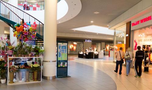 Einkaufszentrum …