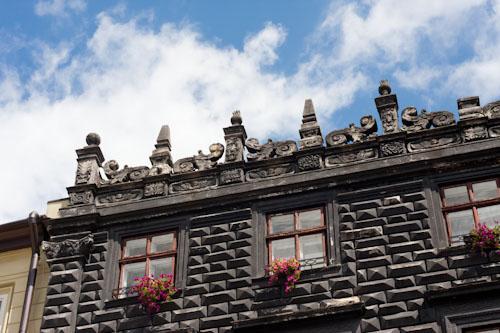 Fassadendetail am Marktplatz