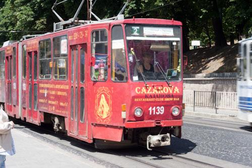 Starenkyj tramwaj (dum dum da di da dum dum, da di da dum dum, da da daa …)