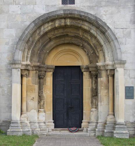 Romanisches Portal St. Panteleimon