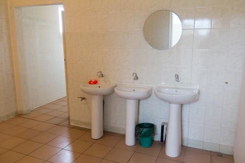 Sanitäreinrichtung des Womo-Stellplatzes