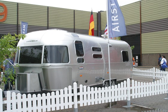 Airstream, der Name ist Programm