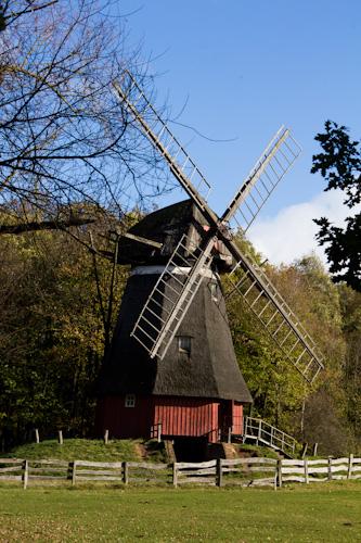 Wir sind in der Baugruppe Niederrhein–da darf die Windmühle nicht fehlen.