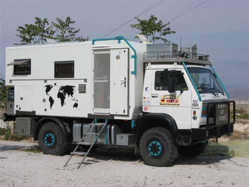 Expeditionsfahrzeug MAN 4x4 Typ MAN 9.136 FAE.
