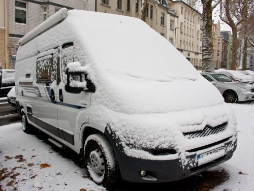 Pösslchen im Winter in Köln