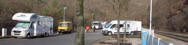 Rund um den Rursee, Pösslchen beim Silvestercamping in der Eifel