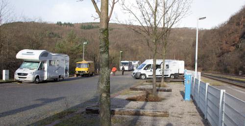 Wohnmobil-Stellplatz Heimbach am Rursee