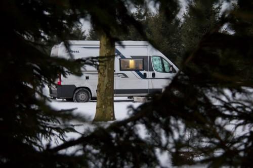 Camping Boomgard auf der Wiese
