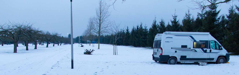 Wintercamping Teil 2 – drei Nächte später oder wie Pösslchen aus dem Schlamassel rauskam