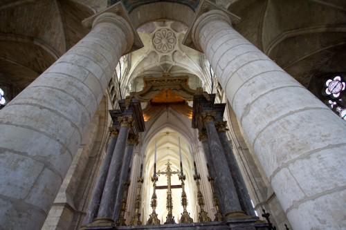 St. Étienne, direkt vor dem Altar