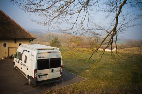 Champagne Richardot –unser kostenloser Übernachtungsplatz in Loches-sur-Ource