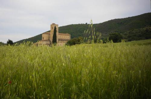 Romanisches Kloster Sant' Antimo