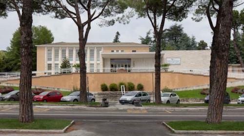 Kurort Chianciano Terme –falls mal jemand seine Leber kurieren möchte und etwas für gute Nachkriegsarchitektur übrig hat.