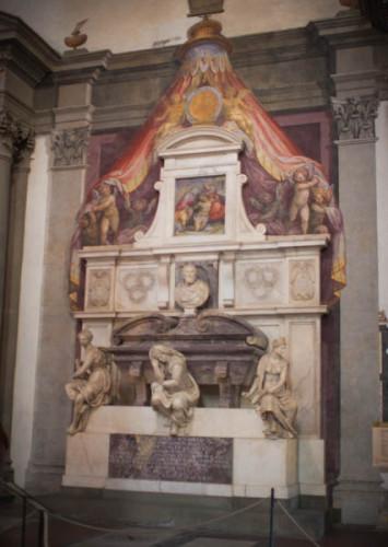 Grabmal von Galileo Galilei.