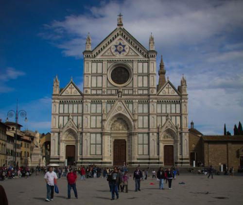 Fassade von Santa Croce