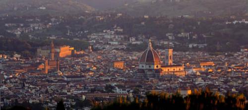 Gute Nacht aus Fiesole Camping Panoramico … das seinen Namen zu Recht trägt.