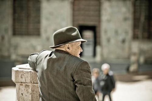 Sonntagmorgen auf der Piazza del Campo
