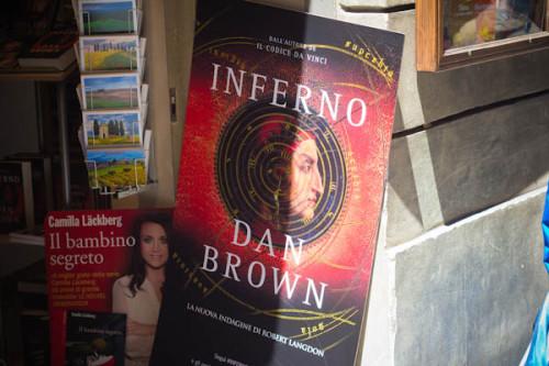 Die Lektüre zur Reise: der neue Dan Brown spielt in Florenz, und ich sehe neuerdings die Schauplätze direkt vor mir. Cool.