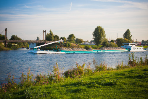 Rur mündet in Maas