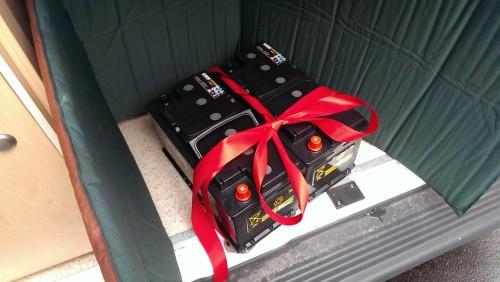 Exite Wohnraumbatterie für Wohnmobil