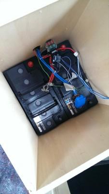 Zwei neue Wohnraumbatterien im Pössl