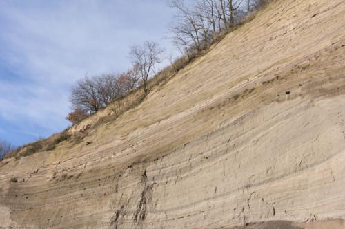 Als der Laacher See ausbrach vor knapp 13000 Jahren, war das der Rest der Aschewolke. Oder ungefähr so.