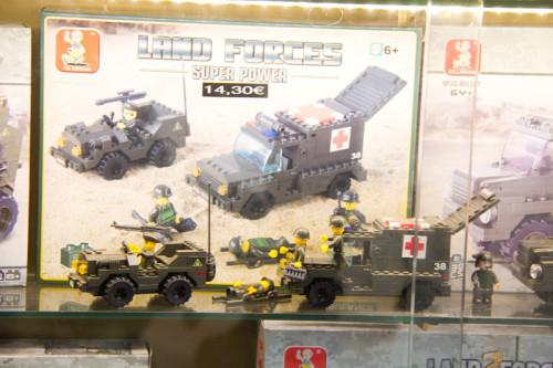 Erst auf den zweiten Blick erkannt: das ist kein (!) Lego